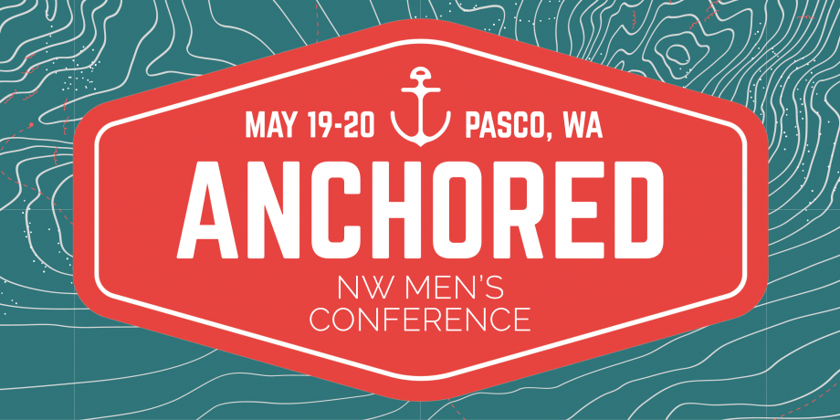 Anchored Men's Conference Graphic